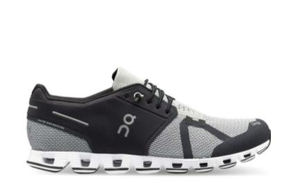 sneakers on running cloud