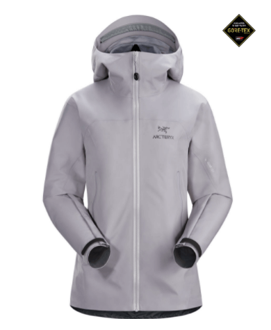 chaqueta impermeable arcteryx shell mujer