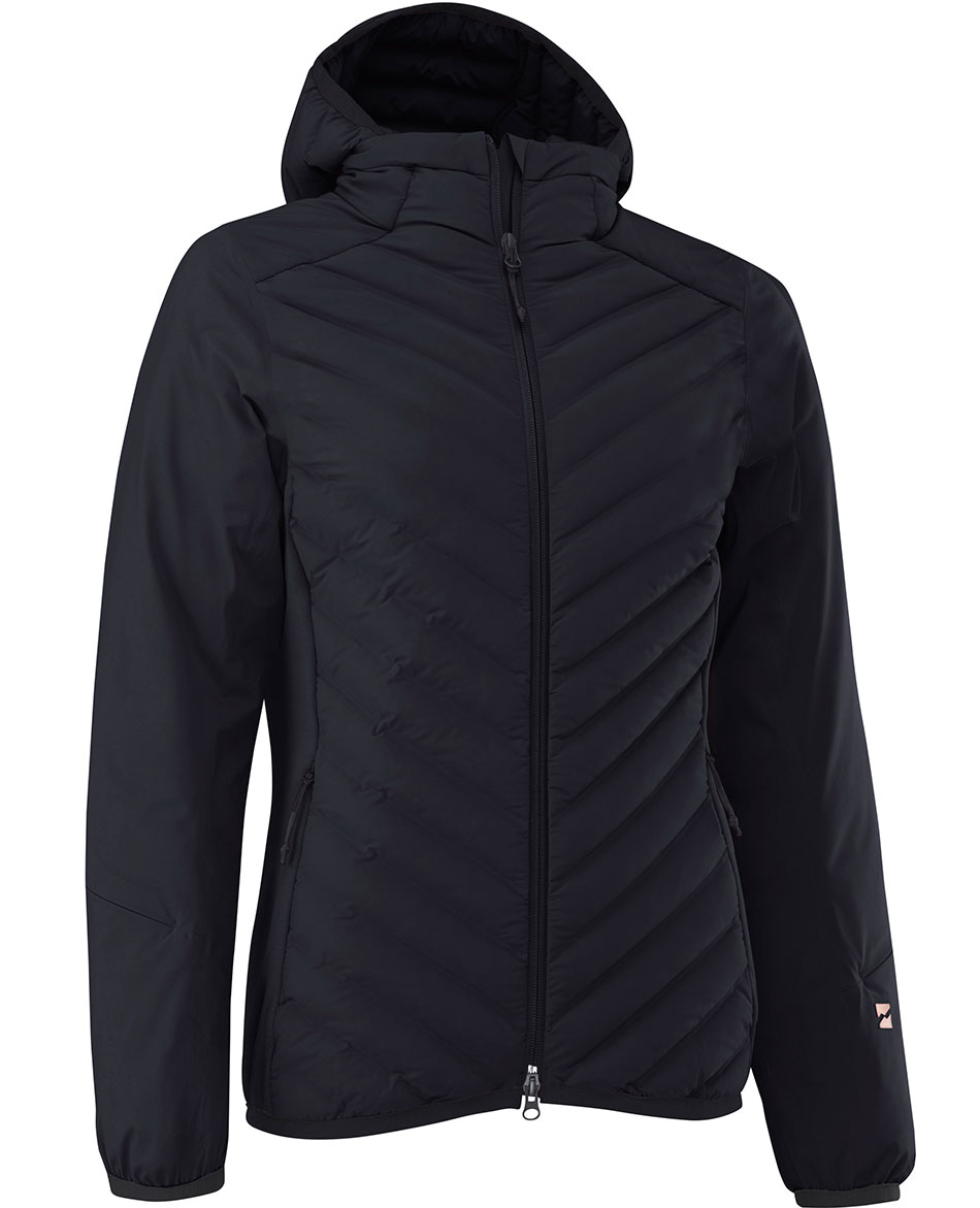 MOUNTAIN FORCE CHAQUETA DE FIBRA CON CAPUCHA SLANTED STRIPE W