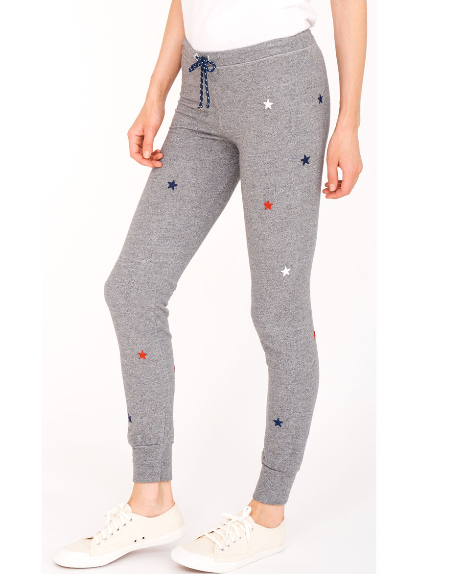 SUNDRY PANTALONES SUNDRY STAR PATCHES