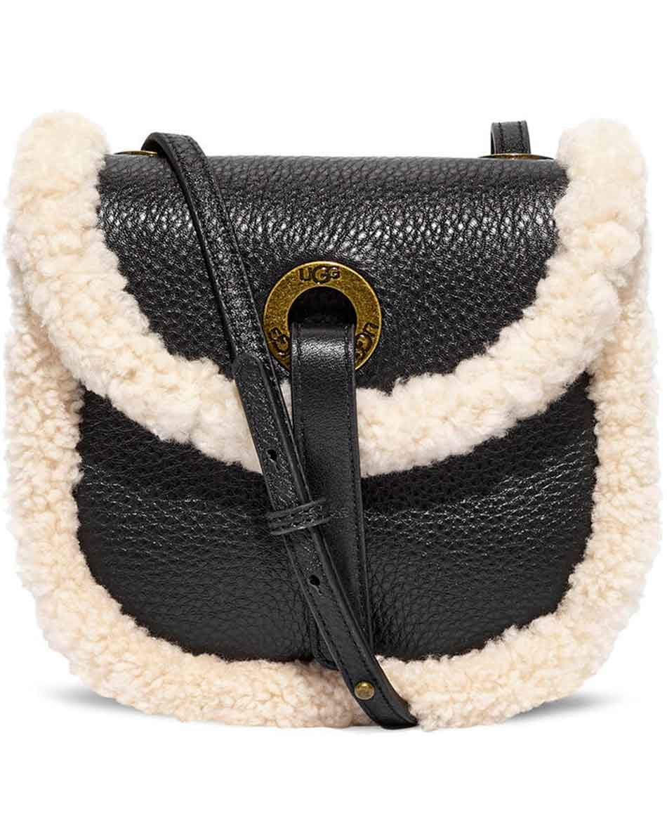 UGG BOLSO HERITAGE CROOSBODY LEATHER W