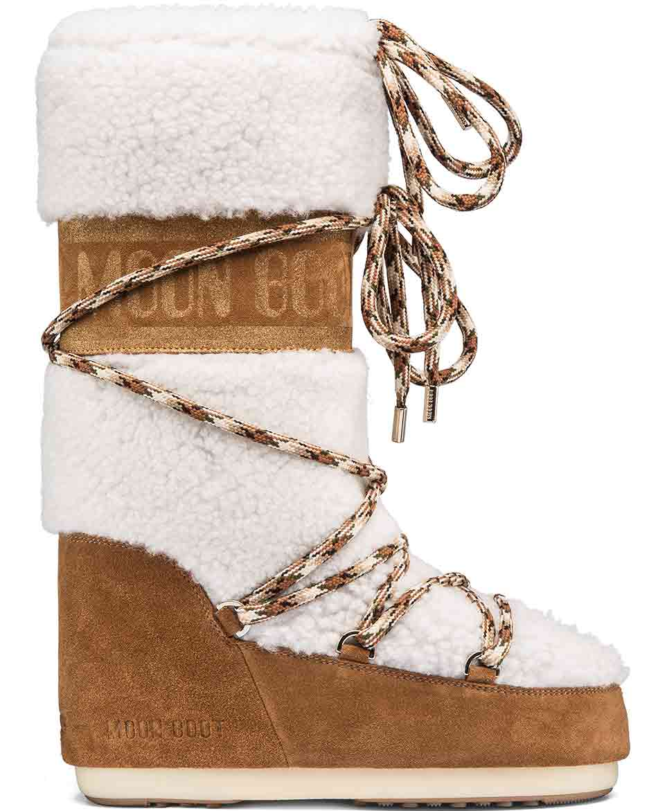 MOON BOOT DESCANSOS MOON BOOT SHEARLING