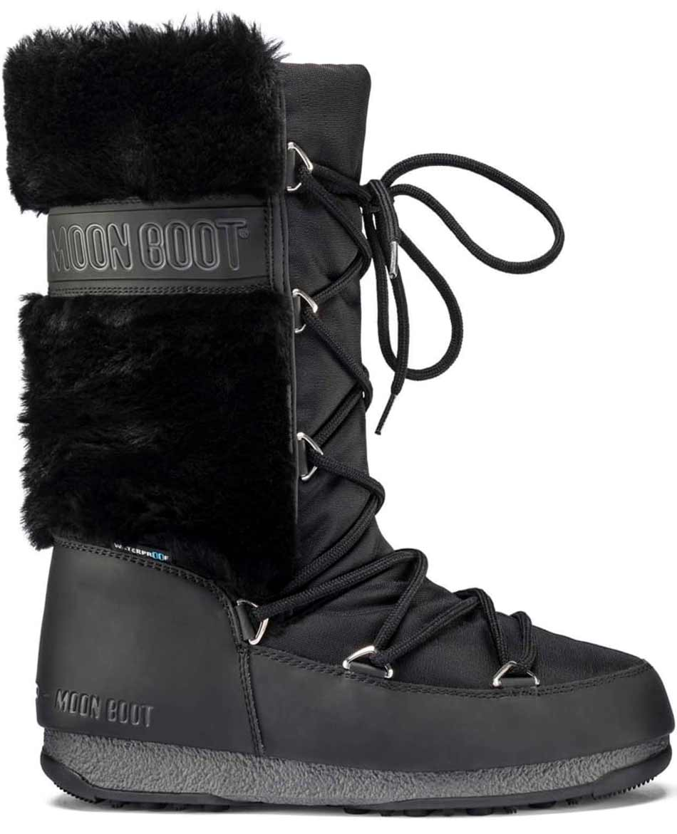 MOON BOOT DESCANSOS MOON BOOT MONACO FUR WATERPROOF
