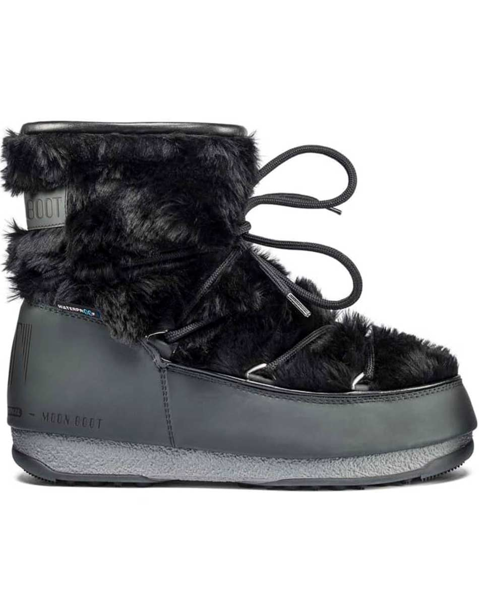 MOON BOOT DESCANSOS MOON BOOT MONACO LOW FUR WATERPROOF