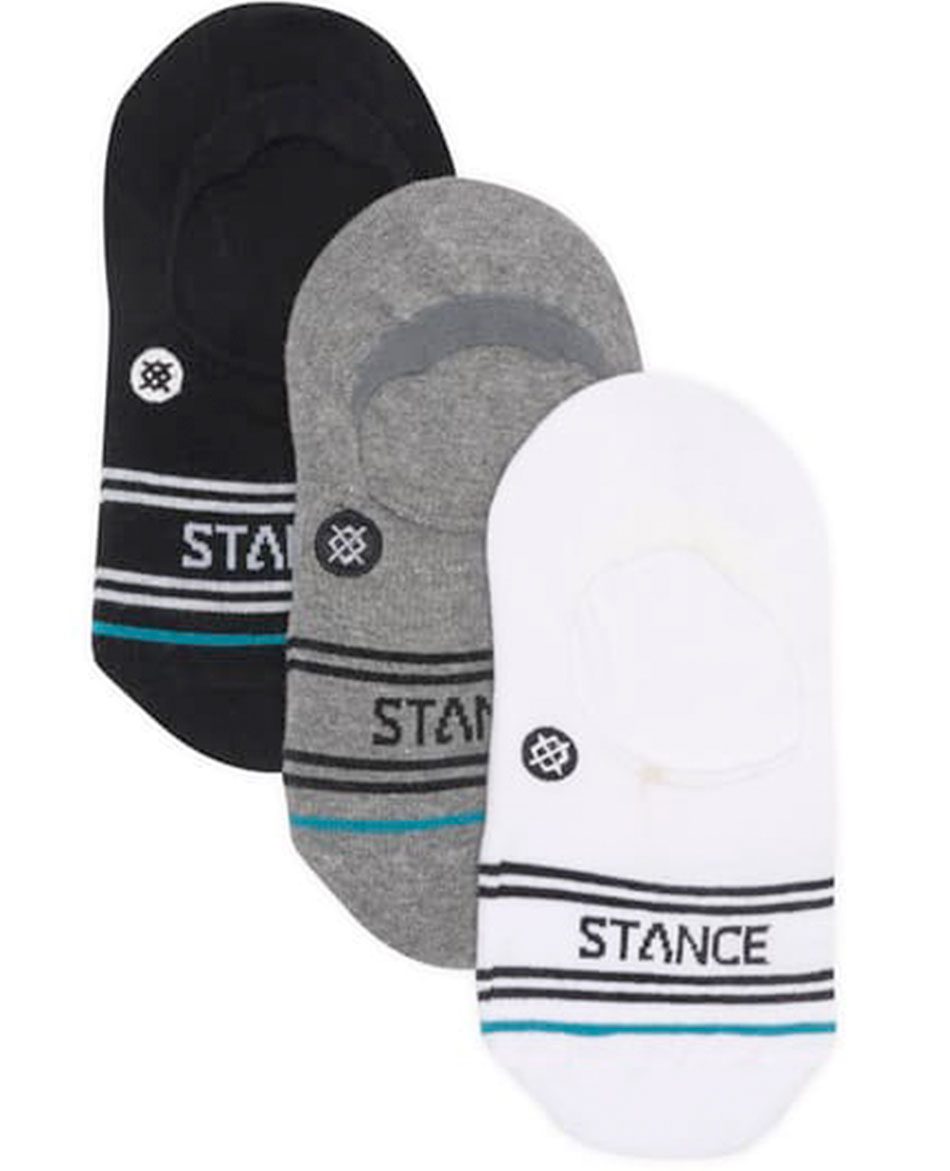 STANCE CALCETINES STANCE BASIC 3 PACK NO SHOW
