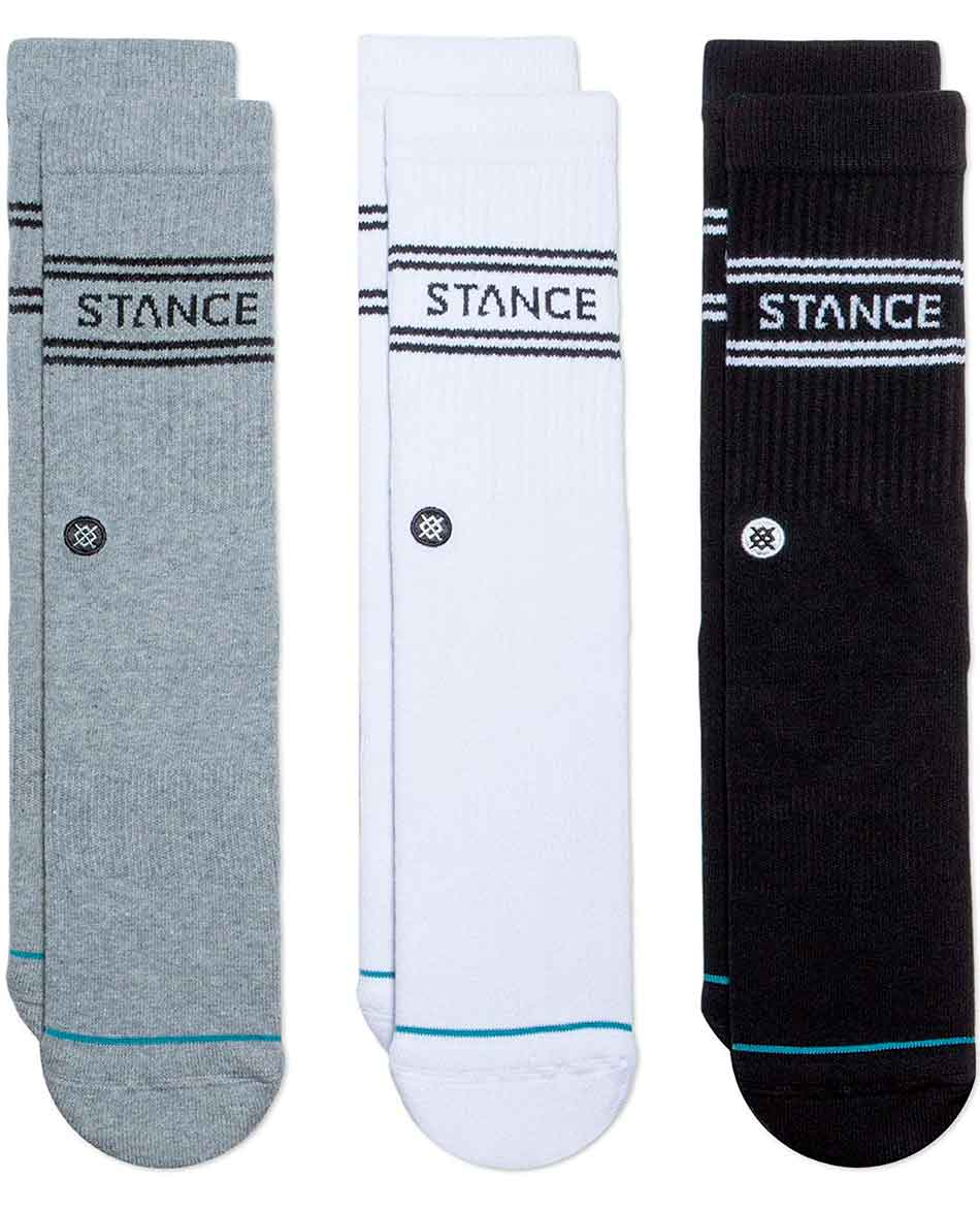 STANCE CALCETINES STANCE BASIC CREW 3 PACK