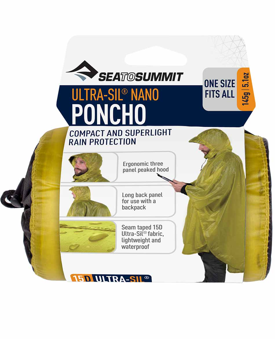 SEATOSUMMIT PONCHO SEATOSUMMIT ULTRA SIL NANO