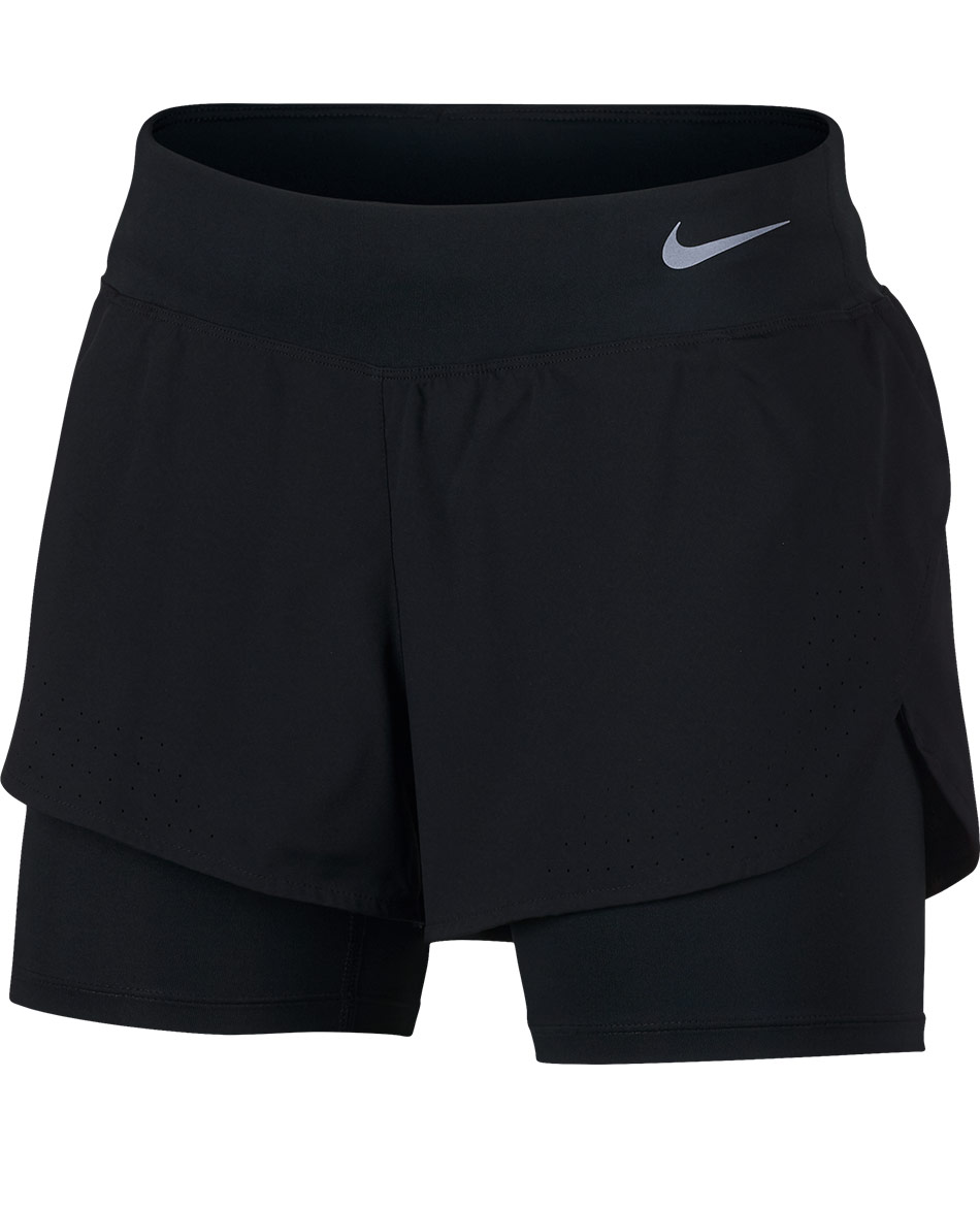 NIKE PANTALON CORTO 2 IN 1 ECLIPSE W