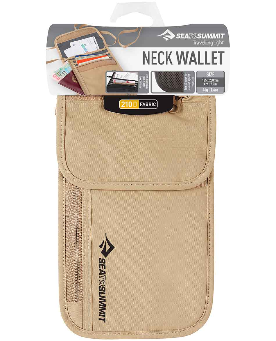 SEATOSUMMIT CARTERA SEATOSUMMIT NECK WALLET