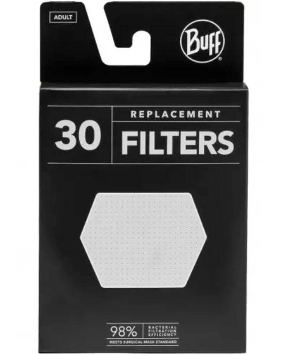BUFF FILTROS MASCARILLAS BUFF® PACK 30 UNID.
