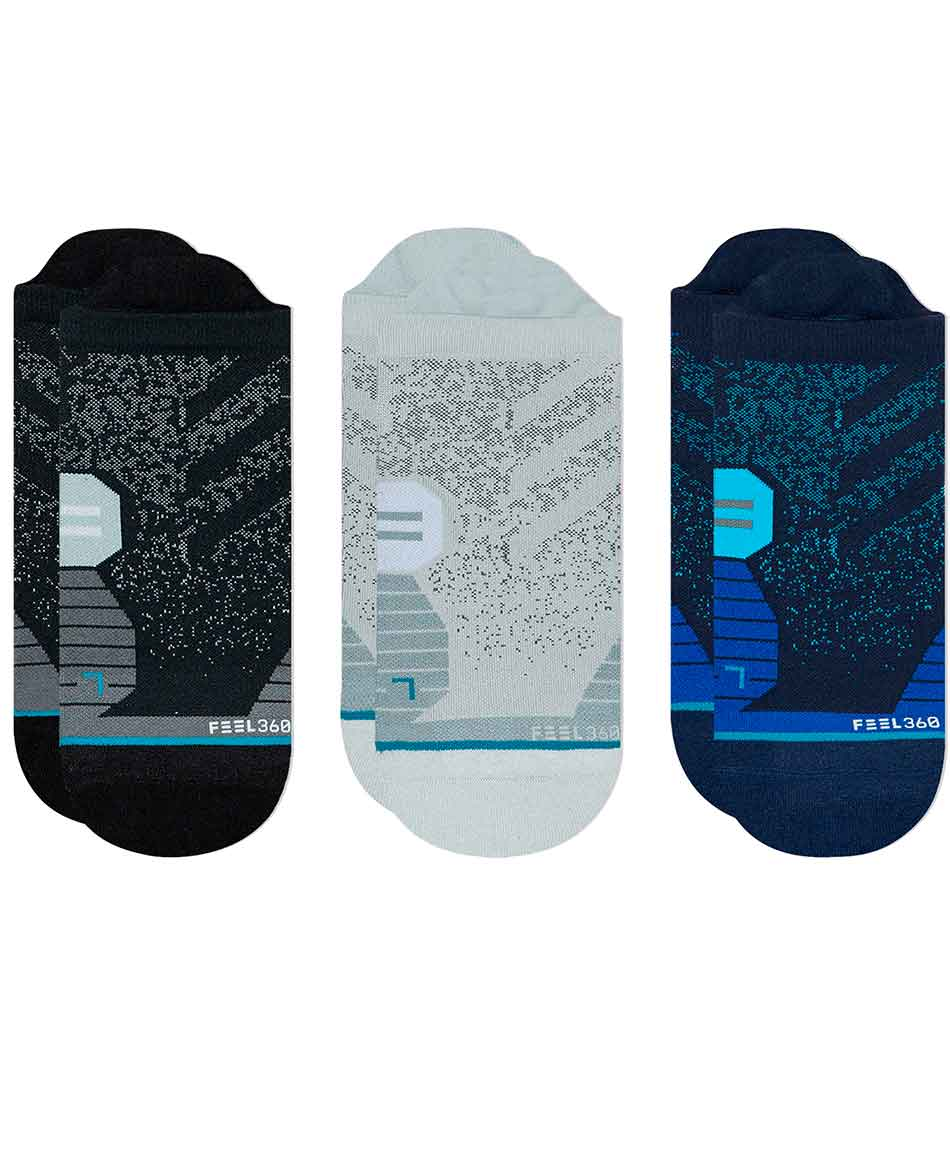STANCE CALCETINES RUN TAB 3 PACKS