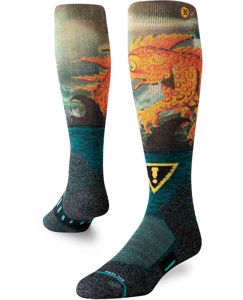STANCE CALCETINES LIZARD LOU