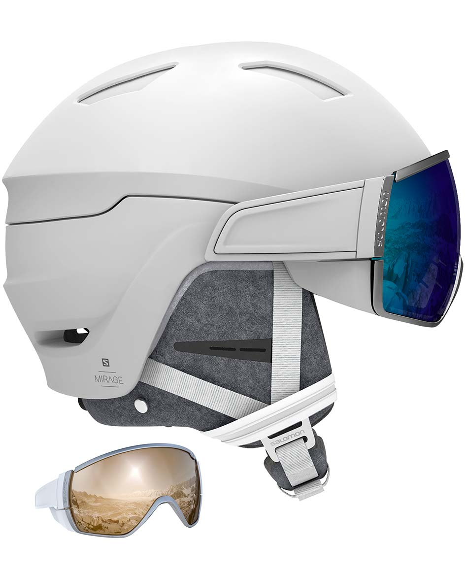 SALOMON CASCO MIRAGE+ 2 LENTES W