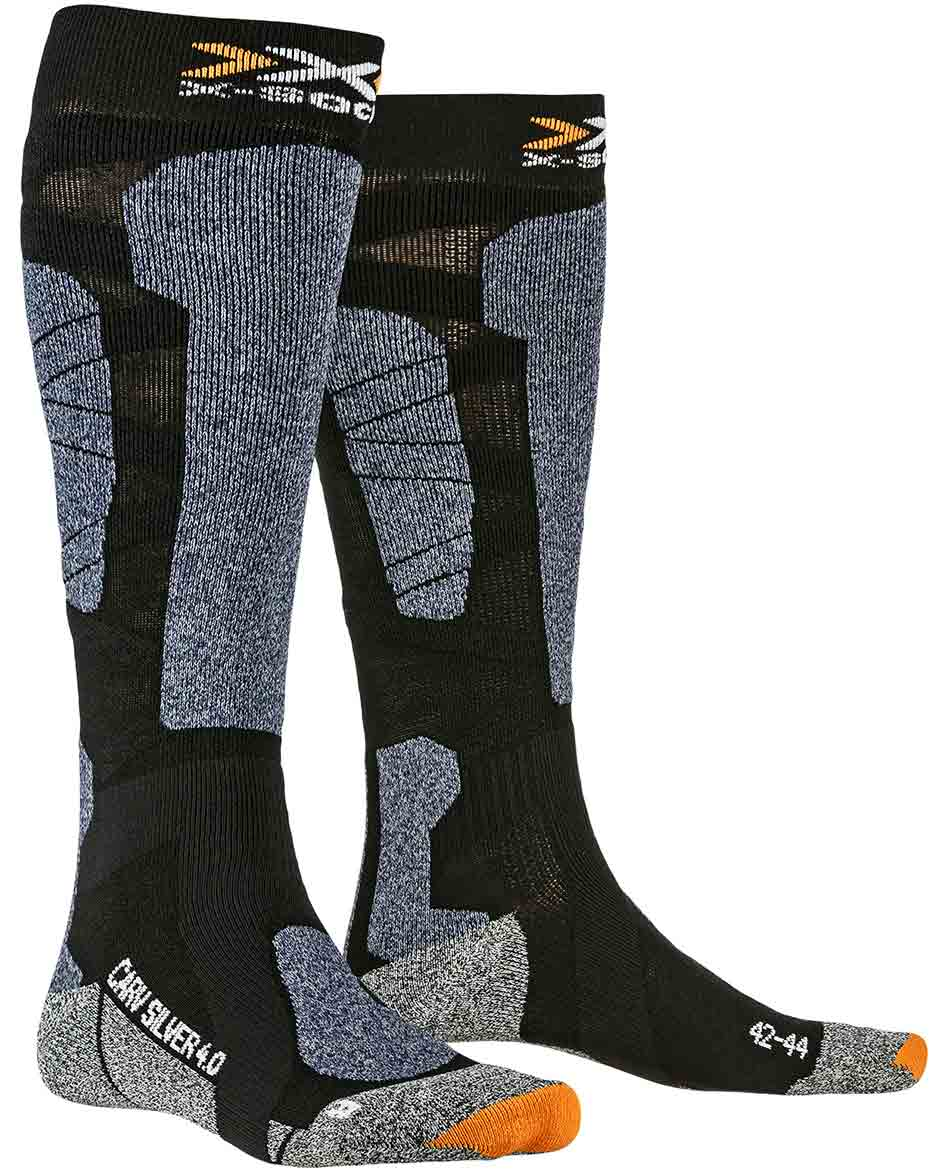 X BIONIC CALCETINES CARVE SILVER 4.0